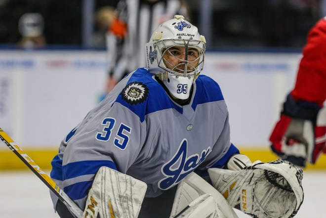 Icemen goaltender Kyle Keyser ranks fifth in the ECHL in saves.