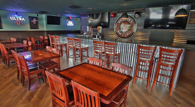 Shown here is the interior of Rooster's Bar & Grill on East College Avenue in Boiling Spring.