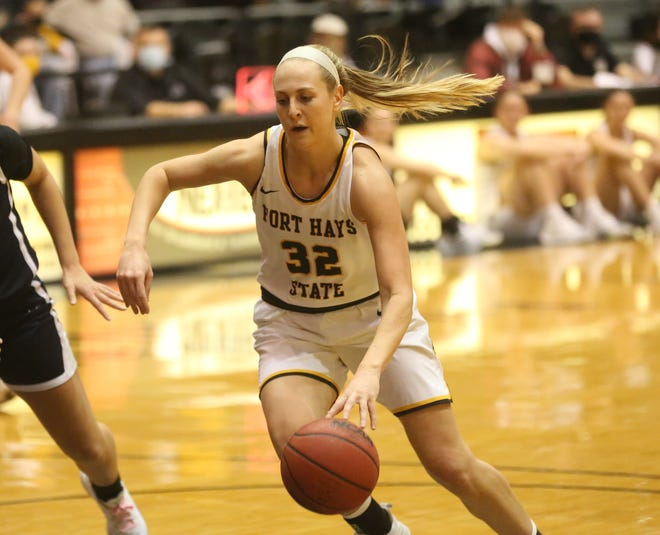 Fort Hays State's Whitney Randall is a finalist for MIAA Winter Student-Athletes of the Year.
