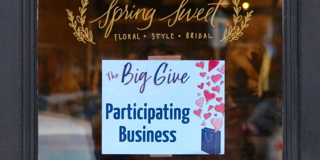 More than 30 participating businesses in downtown Holland donated over $10,000 to local nonprofit organizations following The Big Give on Saturday, Feb. 6.