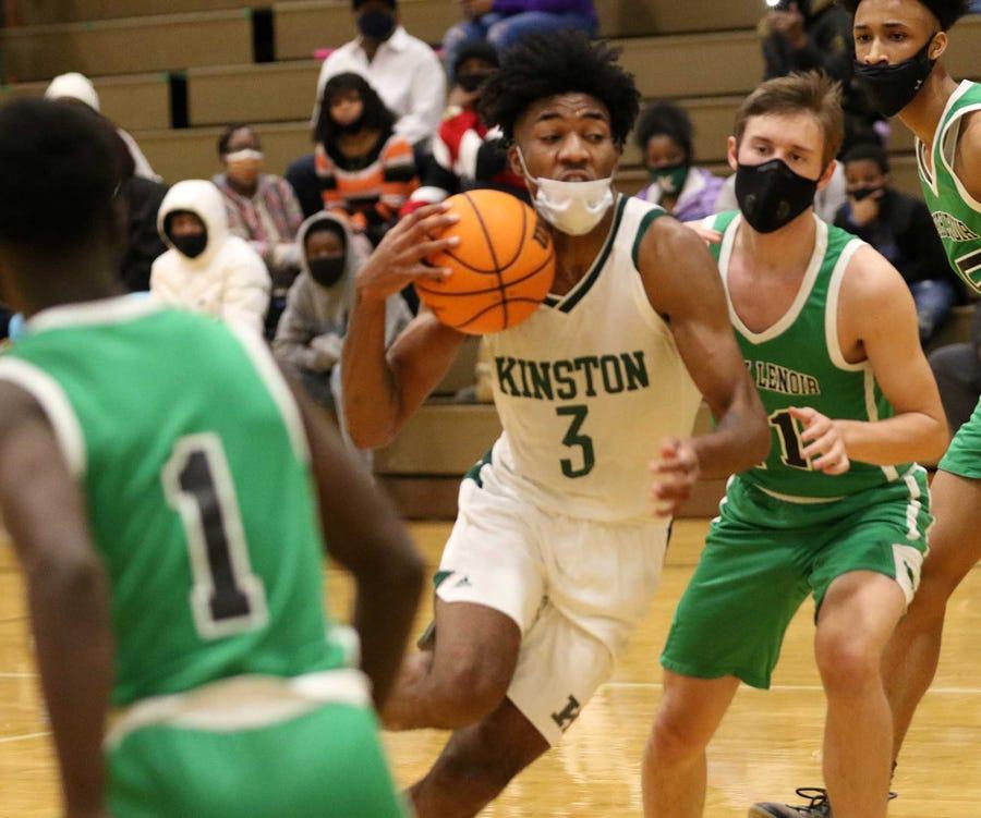 Dontrez Styles, Kinston survive playoff opener