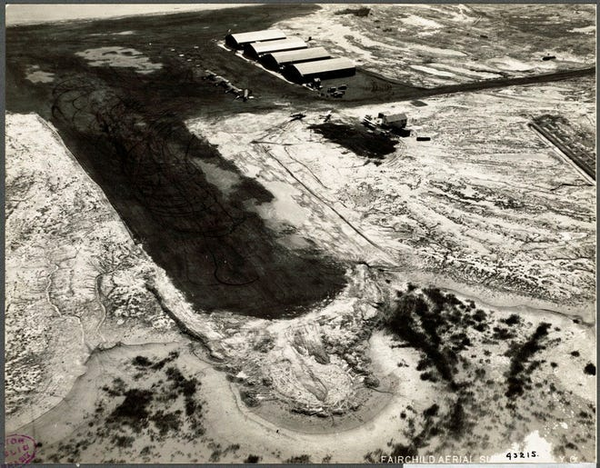 This is what the airport in East Boston looked like in 1925. To see more old photos of the city, visit Digital Commonwealth at www.digitalcommonwealth.org.
