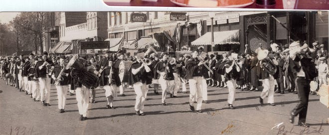 Pictures of the Past comes from Gwen Koda showing the Lincoln band from 1934.