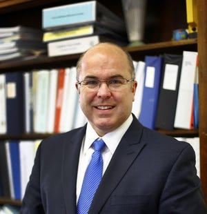 Frank Hackett, superintendent of Braintree schools.