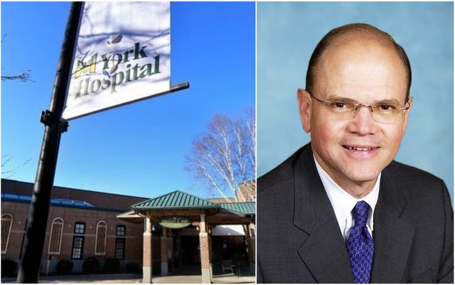 Dr. Patrick A. Taylor has been named president and CEO of York Hospital in York, Maine. He'll take over more than a year after his predecessor's sudden departure.