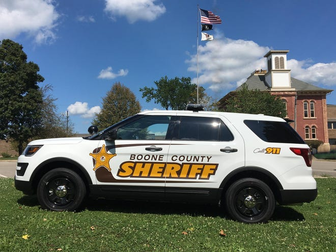 Boone County sheriff's police