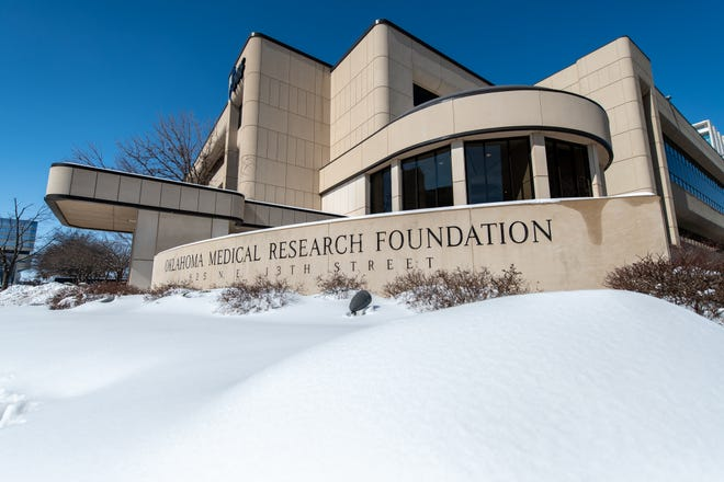 The Oklahoma Medical Research Foundation on Monday, Feb. 15, 2021.