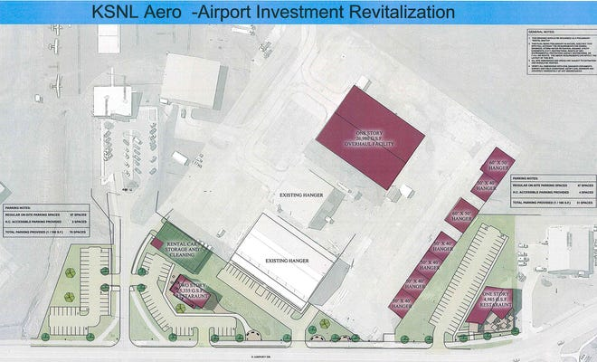 KSNL Aero is proposing a large-scale development project on the Shawnee Regional Airport campus.