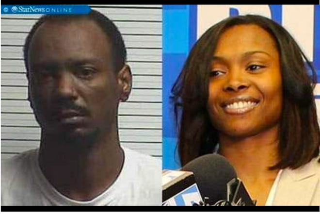 Lamar McDow, left, and Fontella Marie Holmes, right.