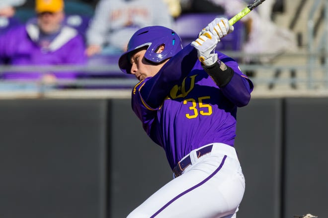 Bryson Worrell will be the lead-off hitter for ECU during Friday's season opener against Rhode Island at Clark Le-Clair Stadium.