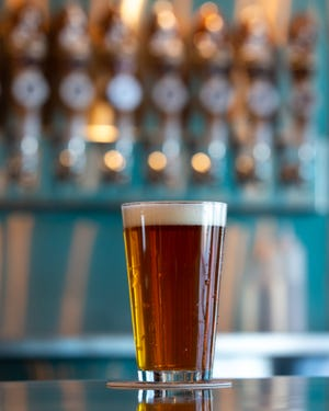 Looking for a great local IPA beer? The Hoppy Basset IPA is a great choice at $5 a pint at Happy Basset Barrel House, 510 S.W. 49th St.
