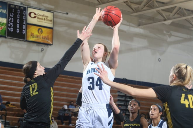 Washburn's Lauren Cassaday came up big in the post for the Ichabods in Thursday's 51-41 win over Missouri Western, scoring 11 points as the Ichabods ended a two-game losing streak.