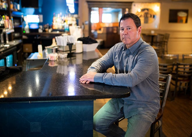 Thomas Oliveri, owner of Peppercorn's Grille and Tavern, hopes to expand the bar seating.