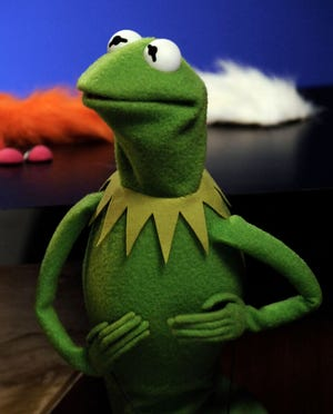 "Kermit the Frog stars in ""The Muppet Show."""