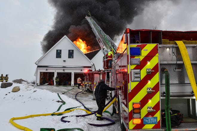 LANCASTER - A house on Runaway Brook Road was gutted by fire last week.
