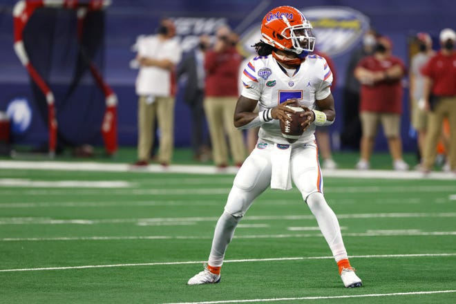 Florida quarterback Emory Jones is ready to take his turn with the Gators.
