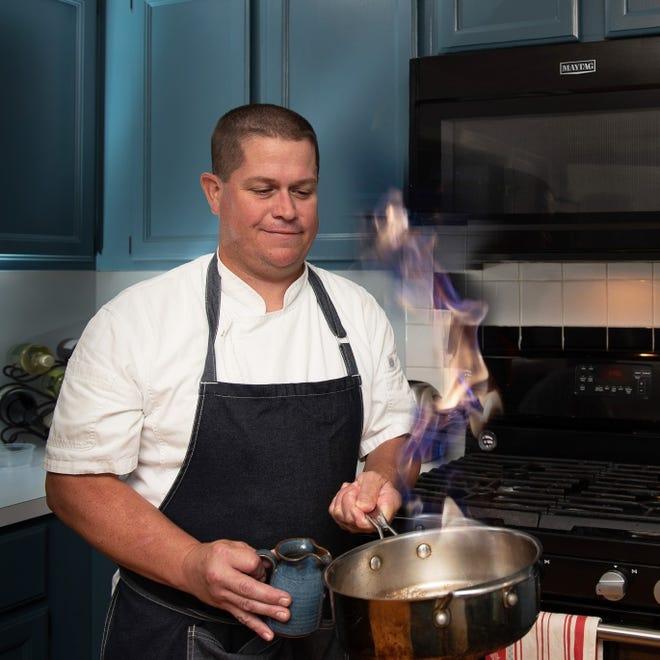 Executive Chef John Ramsbottom, known as Chef J