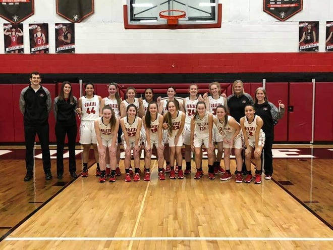 The New Philadelphia girls basketball team won a Division I Sectional crown Thursday night.