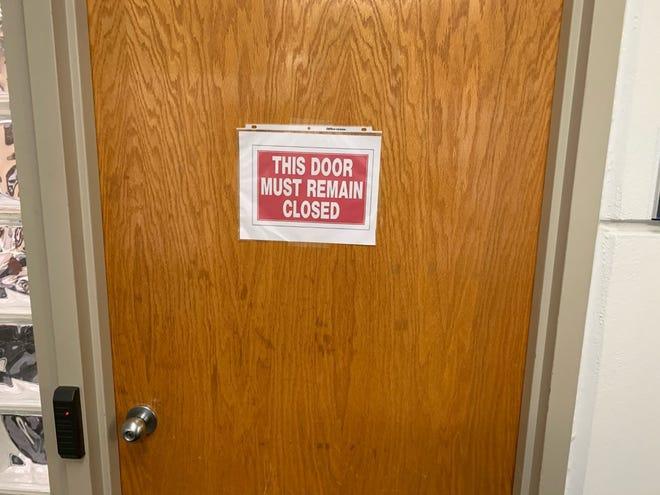When is a door not a door? When it's a wall.
