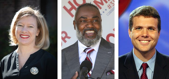 Serena Fortenberry, Martin Houston and Walt Maddox are seeking the mayor's seat in the 2021 Tuscaloosa municipal election.