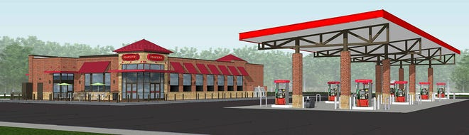 A 6,077-square-foot Sheetz convenience store, restaurant, drive-thru and fuel station is planned on 2.9 acres at the northwest corner of Polaris Parkway and Worthington Road in Westerville.