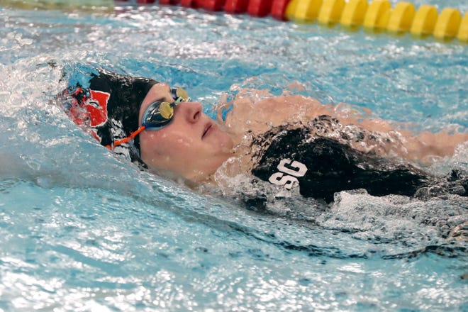 Olivia Morse helped Columbus School for Girls capture its eighth consecutive Division II district title Feb. 18 at Bowling Green. Morse won the 50 free and 100 free.