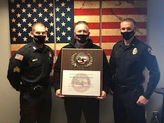 The Massachusetts Police Accreditation Commission voted to award Accreditation status to the Marlborough Police Department for another three-year period. Police chief David Giorgi recognized the efforts of Lt. Robert Jusseaume, Lt. Daniel Campbell and Sgt. Zachary Attaway, who are the leaders of the department's Accreditation team.