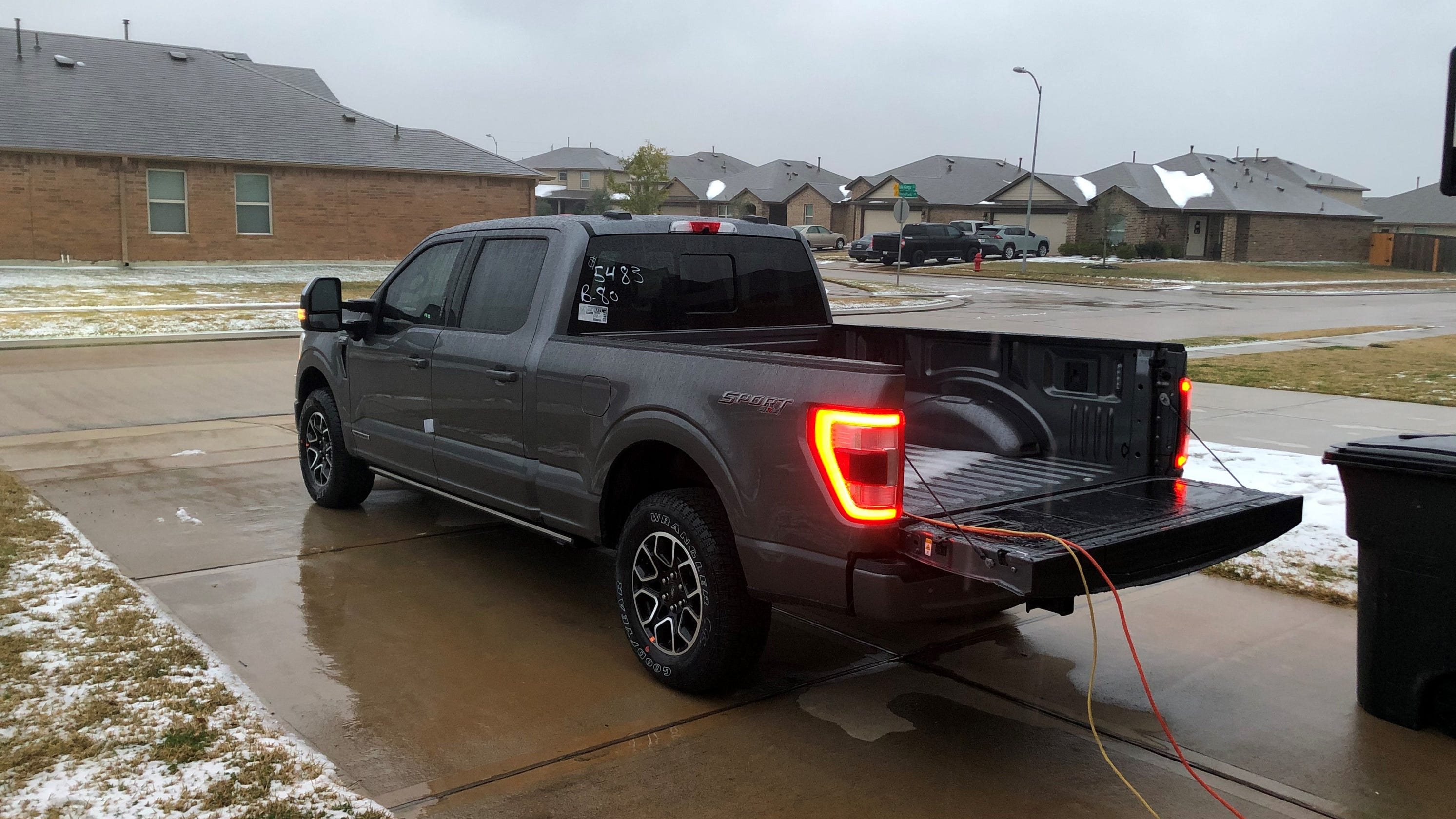 Ford F-150 goes viral after providing generator power to Texas home during blackout