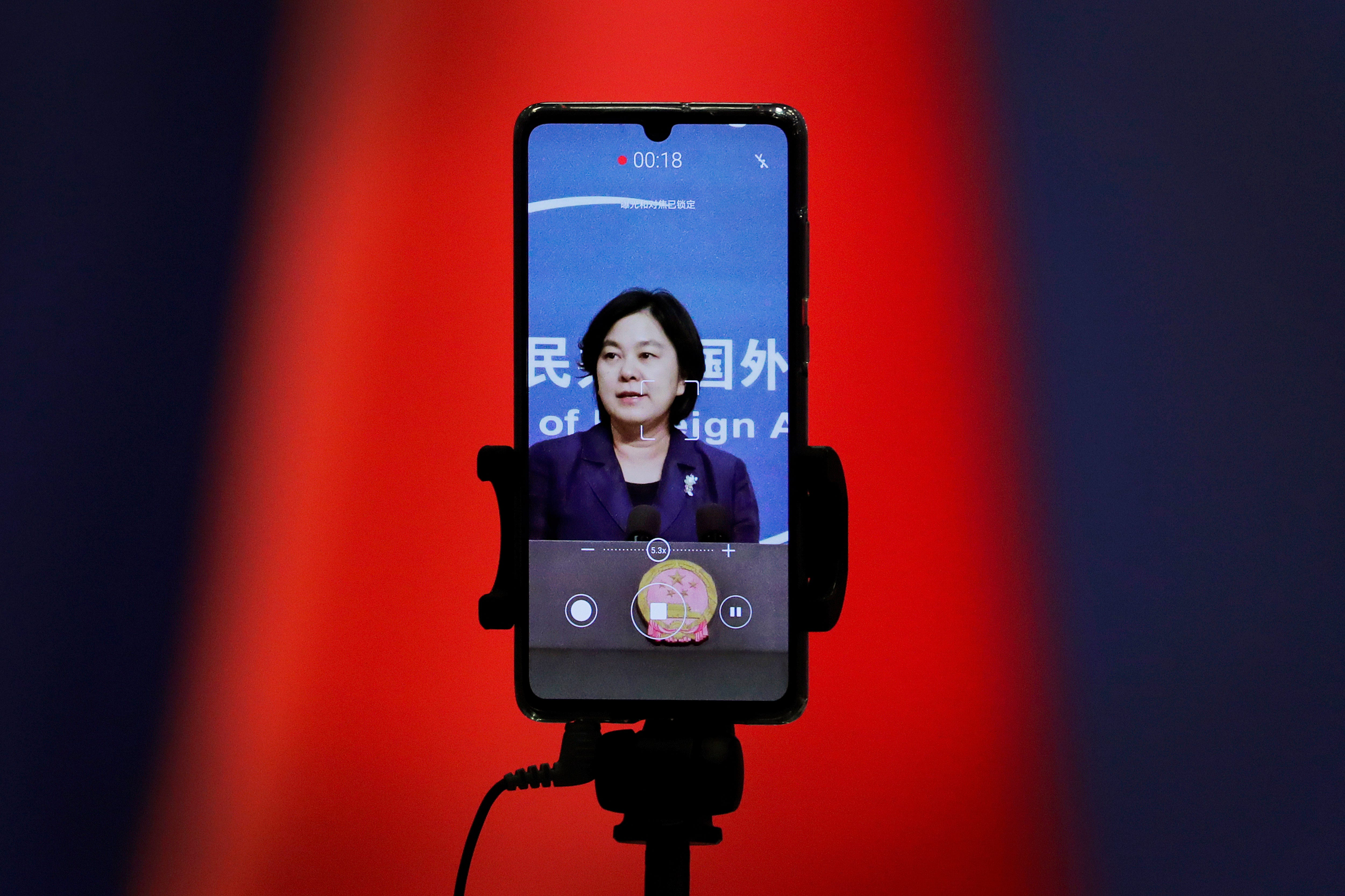 China defends use of Twitter, Facebook in virus campaign 2