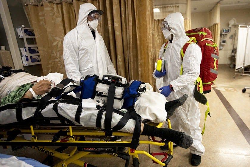 Did California's COVID-19 hospital surge cause unnecessary deaths? 2