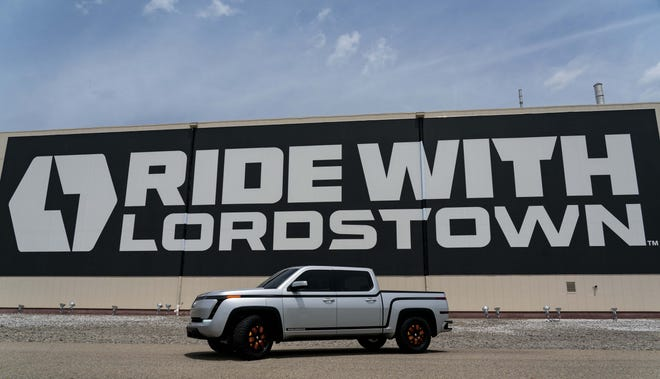 The Lordstown Endurance truck will be made in the former GM plant in Ohio.