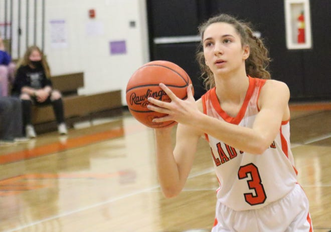 Lucas' Shelby Grover was named second team All-Northwest District in Division IV.