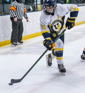University School's Ethan Mann, a Wisconsin recruit, was a first-team all-state selection.