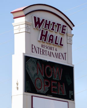 White Hall Entertainment in White Hall, Ala., as seen on Friday February 19, 2021.