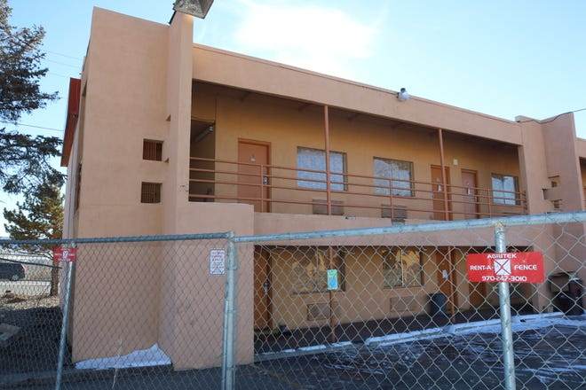 Rooms at the Anasazi Inn at 903 W. Main St. in Farmington sit vacant as the property is set to the demolished. The Farmington City Council approved $150,000 in funds to help assist in paying for its demolition.