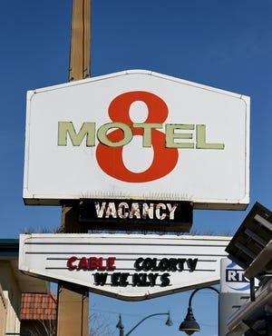 FILE: The Reno 8 Motel at 1113 E. 4th Street on Feb. 19.