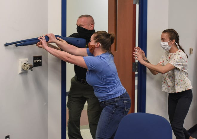 Goodfellow Air Force Base is conducting an active shooter exercise the week of May 17, 2021.