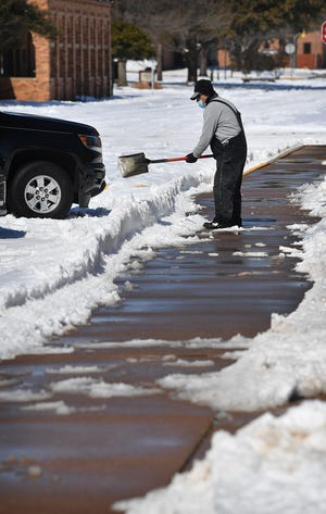 Residents who suffered damage in the winter storm can apply for assistance to FEMA.