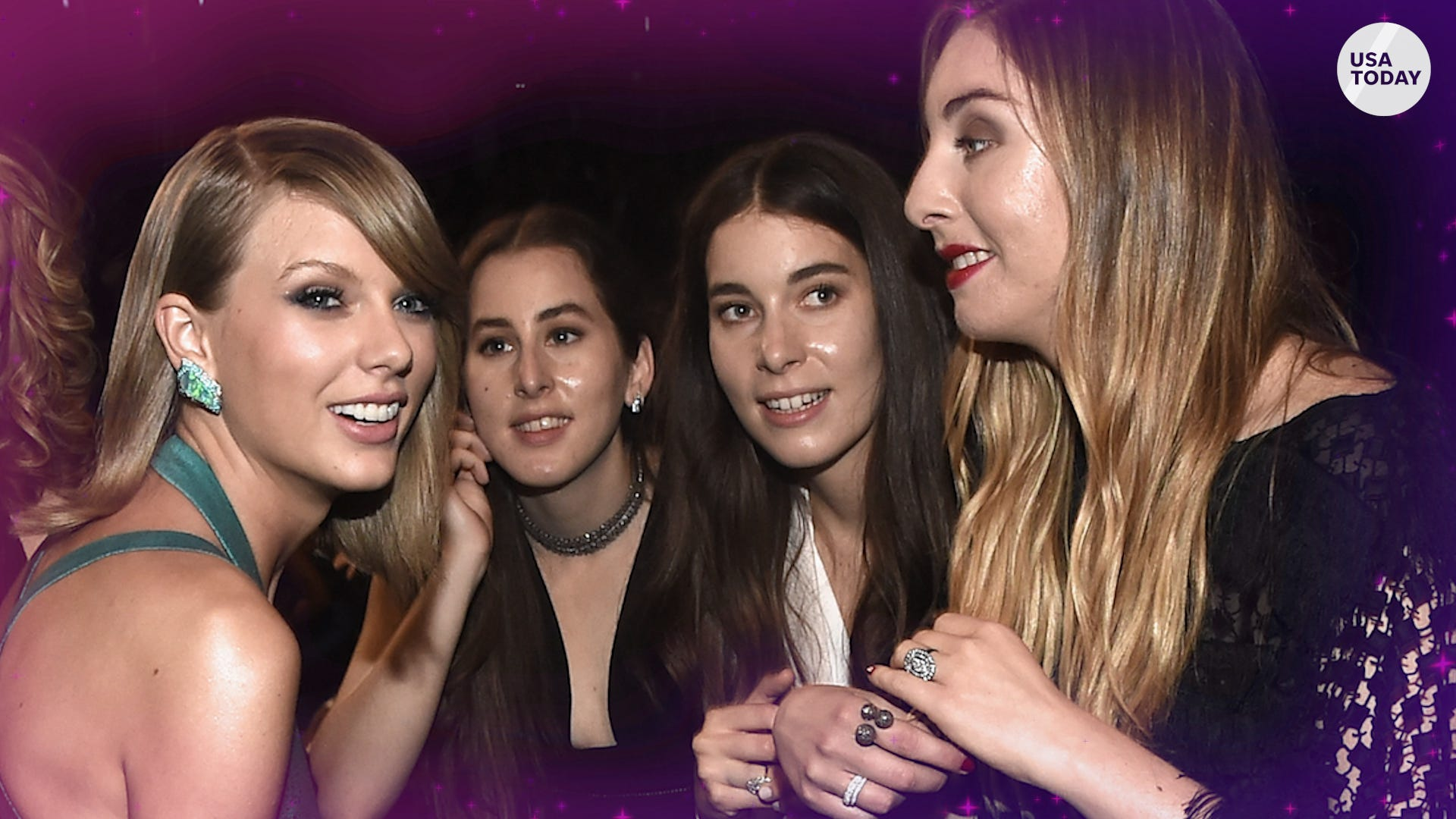 New music: Haim enlists Taylor Swift for 'Gasoline,' Ariana Grande drops deluxe 'Positions'