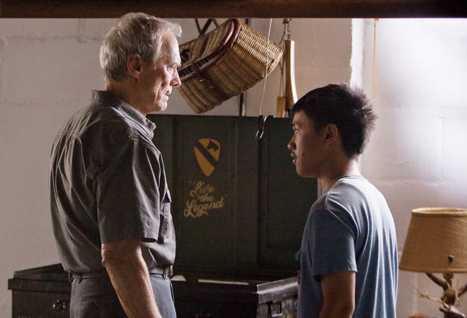 """Walt Kowalski (Clint Eastwood) and Thao (Bee Vang) form an unlikely friendship in """"Gran Torino."""""""