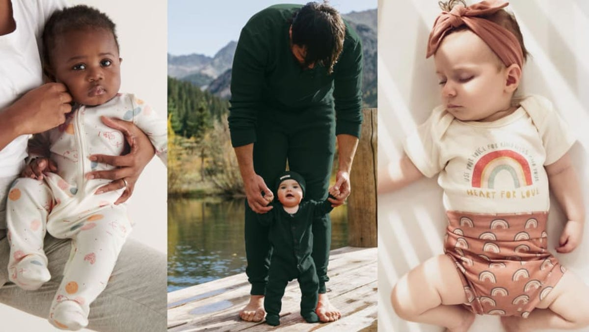7 sustainable, organic baby clothing brands worth buying