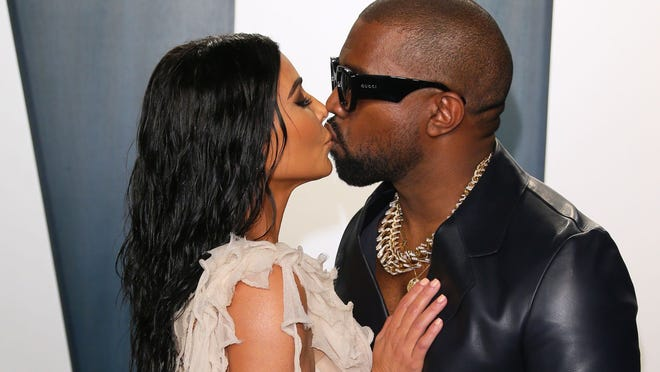 76d93775 3b90 4c8c 863f f312a085044b kim and kanye 5 Kanye West reveals 'Donda' release date, previews new song in ad with Sha'Carri Richardson: See it here