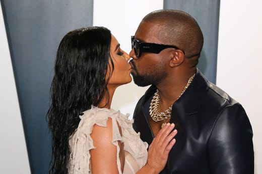 """It's official: Kim Kardashian and Kanye West are <a href=""""https://www.usatoday.com/story/entertainment/celebrities/2021/02/19/kim-kardashian-kanye-west-head-divorce-after-almost-7-years/6556476002/"""">calling it quits</a>. Throughout their almost seven years of marriage, the couple, also known as Kimye, became one of the most recognizable pairs on the planet. Here's a look back at their memorable relationship."""
