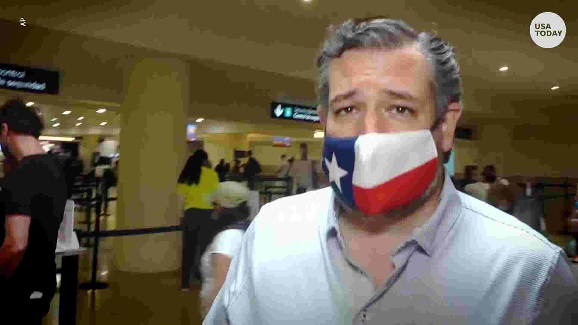 Senator Ted Cruz flew to Mexico on vacation amid Texas' icy weather crisis thumbnail
