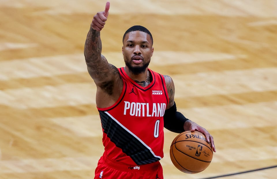 Damian Lillard is a five-time All-Star but has never been voted a starter.