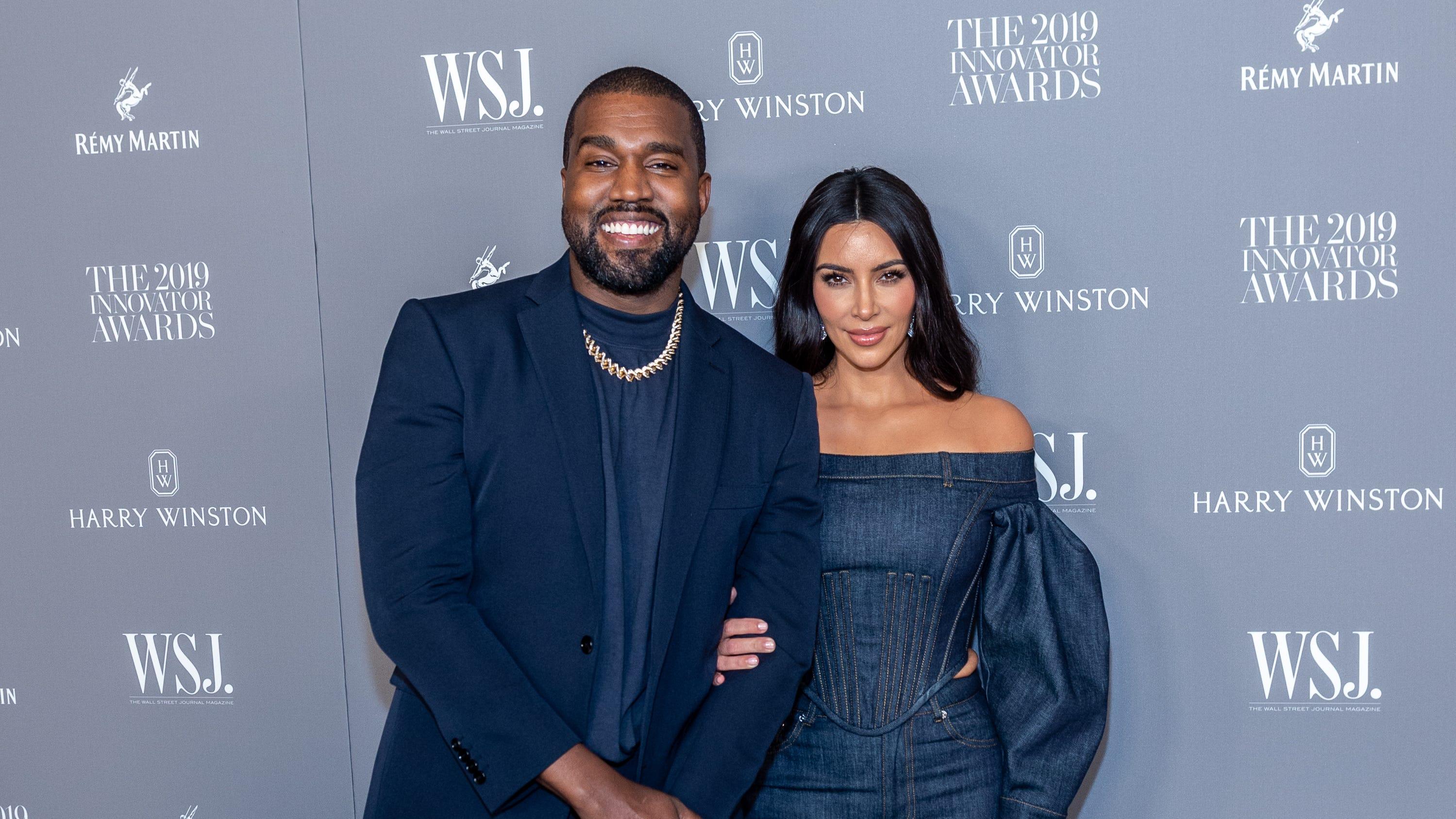 Kanye West gets warm 'happy birthday' from Kim Kardashian amid divorce: 'Love U for Life' - USA TODAY