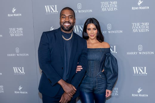 On Nov. 6, 2019, they rocked matching, navy blue palettes at the WSJ Mag 2019 Innovator Awards in New York.