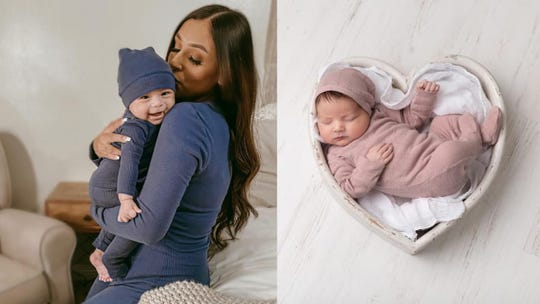 How cute are these matching outfits?