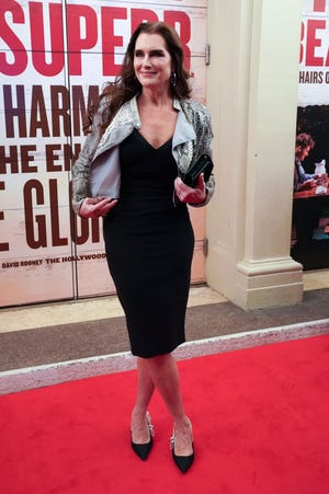 """Brooke Shields attends the Broadway opening of """"Girl From the North Country """" in 2020."""