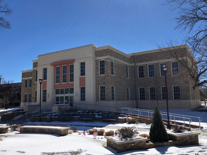 The Engineering building at West Texas A&M University, where students from Canyon ISD will be coming to take classes as part of the new program between the two entities.